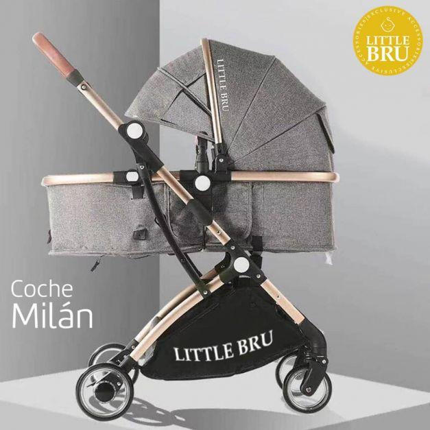 Preventa: Coche para bebé  Milán Gris Oscuro