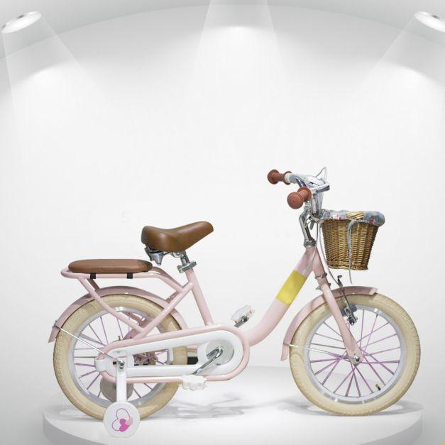 Bicicleta Aro 16 Vintage Modelo Noah Rosa