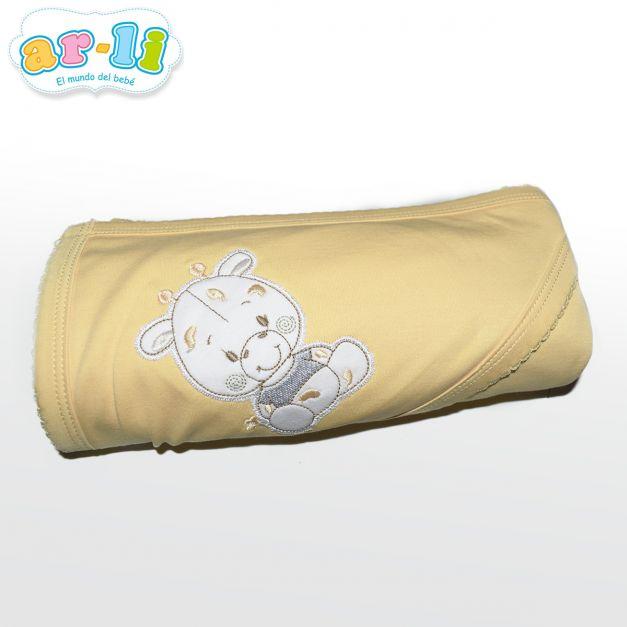 Manta para bebé (Amarillo)