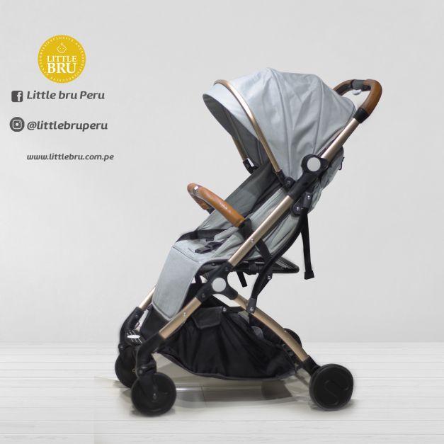 Coche para bebé Modelo Avión BEIMENS GRIS CLARO