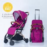 Coche para bebé  Little Bru Modelo AVIÓN Morado