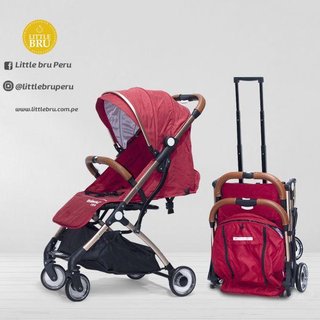 Coche para bebé  Modelo Avión BEIMENS ROJO