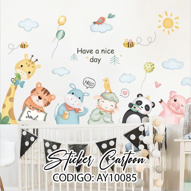 Sticker Cartoon AY10085