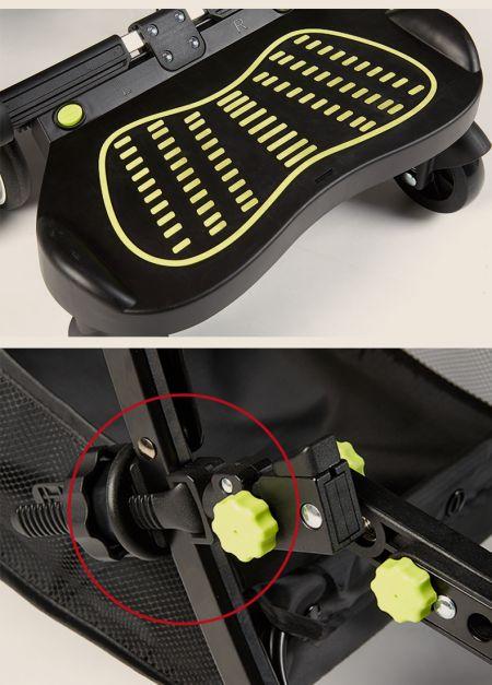 Exhibición - Stroller board - Patineta adaptador para coche
