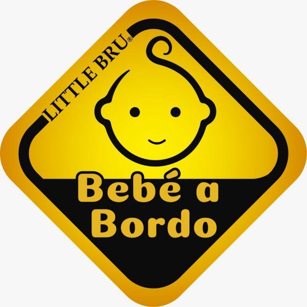 Sticker para auto Bebê a Bordo