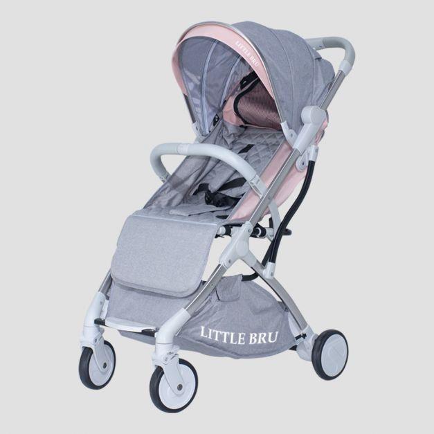 Coche para bebé Modelo Skyline Gris con Melón Little Bru