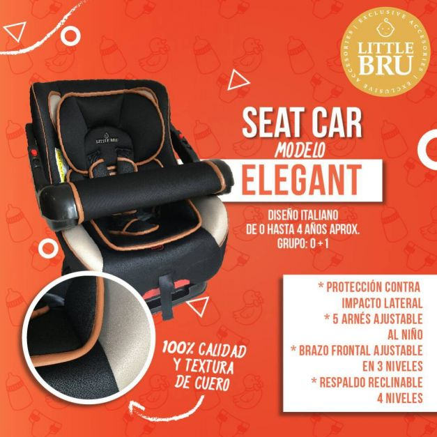 Asiento de auto Seat Car Elegant