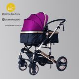 Coche para bebé  Madrid 2020 Negro/Purpura