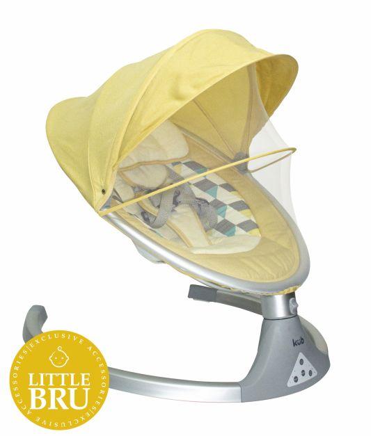 Mecedora electrónica modelo Picaboo - Amarilla