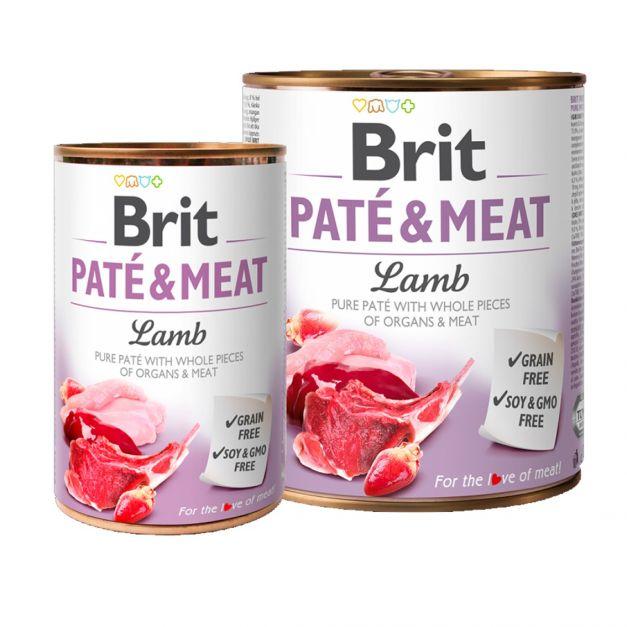 BRIT PATE & MEAT LAMB