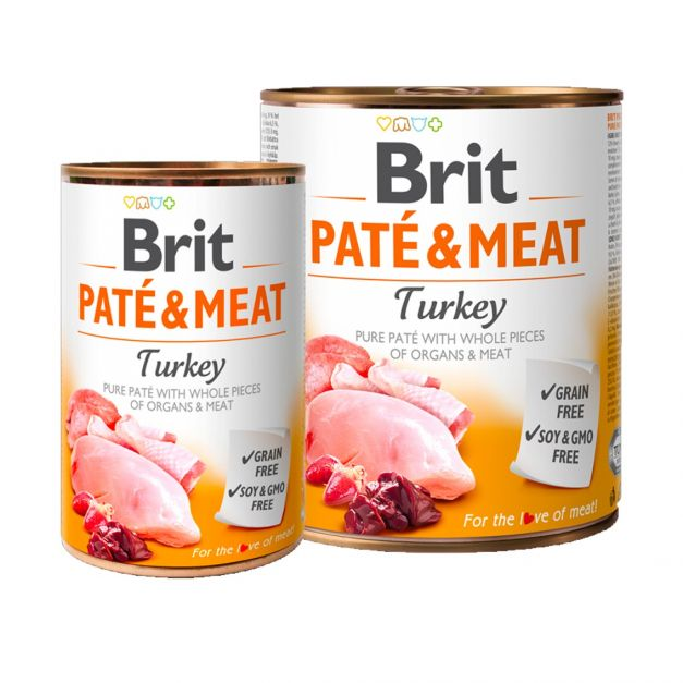 BRIT PATE & MEAT TURKEY