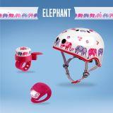 Casco  con elefantes (Set)