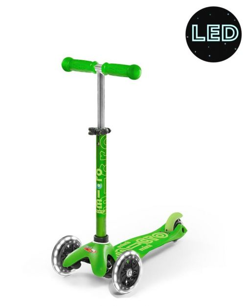 Mini Micro Deluxe LED Verde