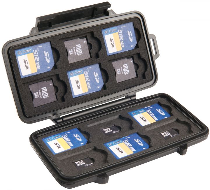0915 Micro Tarjeta de Memoria Pelican Case