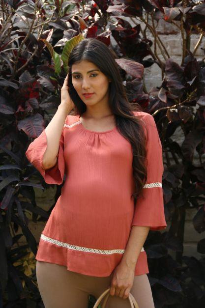 Blusa de Maternidad Modelo Hindu