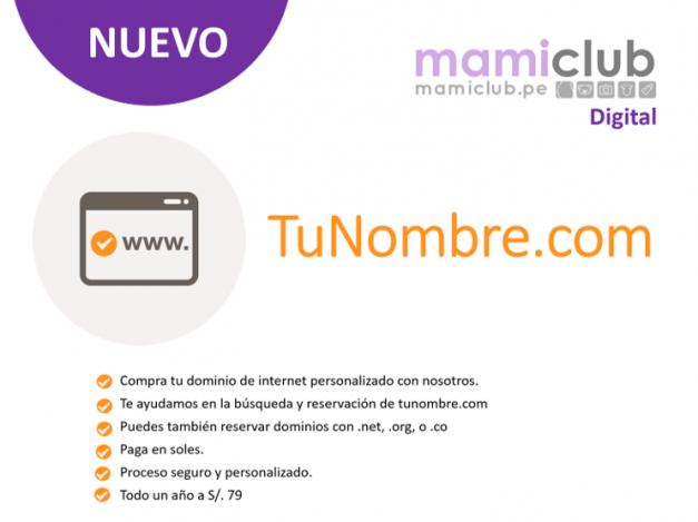 MamiClub Digital: TuNombre.com