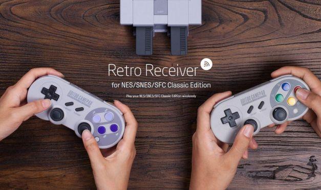 Retro Receiver for NES/SNES/SFC Classic Edition