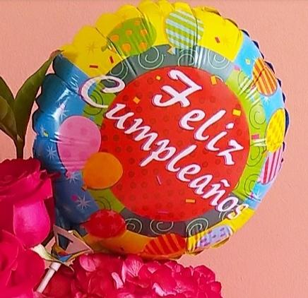 Globo cumpleaños