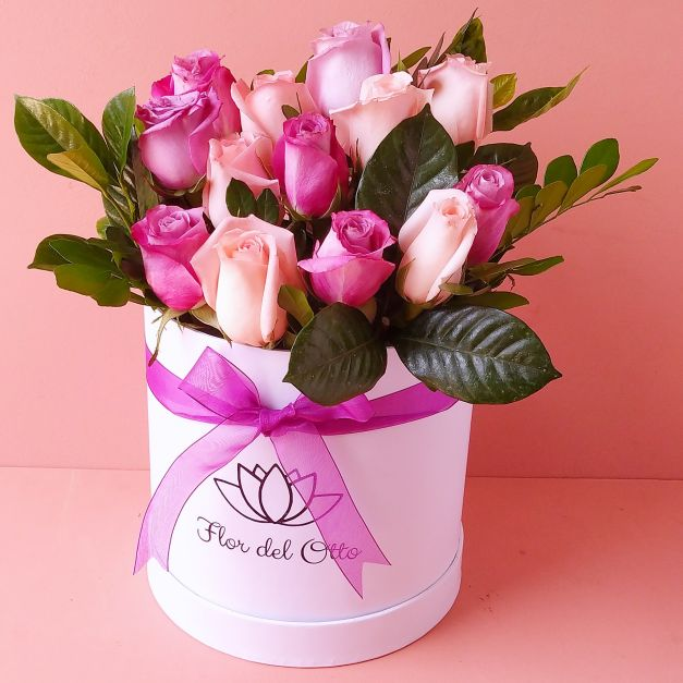 Sombrerera Pinky floral