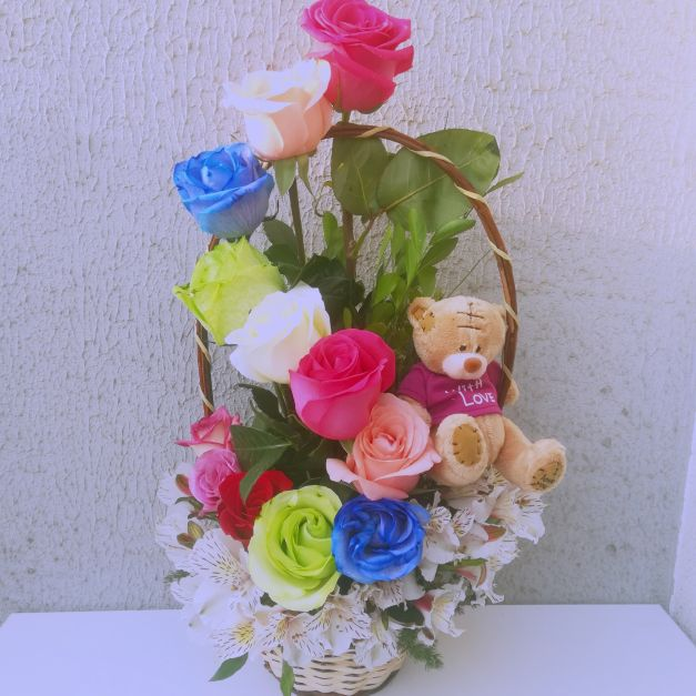 Arcoiris floral