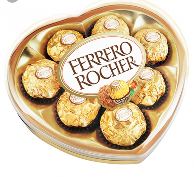CHOCOLATES CORAZON 08 FERRERO ROCHER