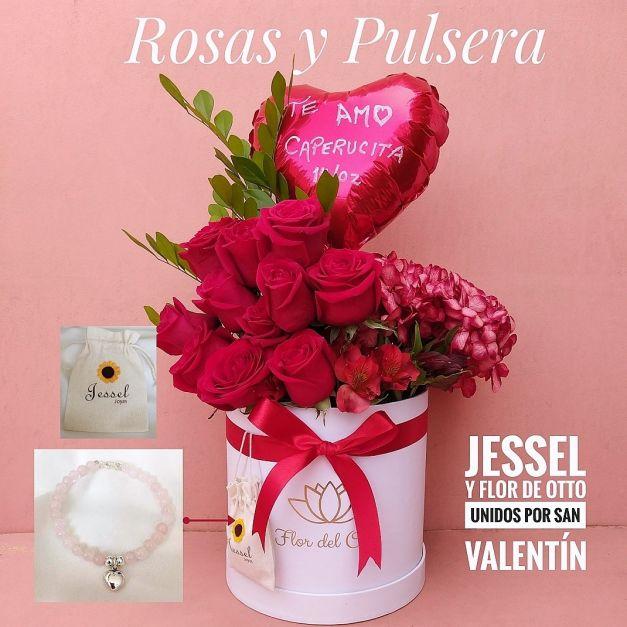 Rosas y joyas