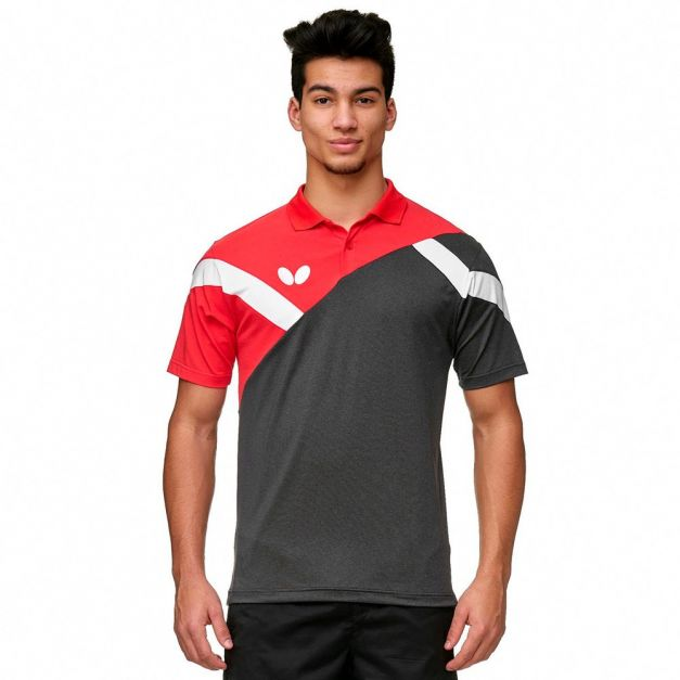 Polo BUTTERFLY YAO RED