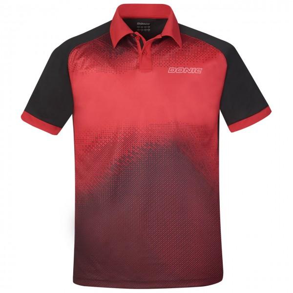 Polo DONIC BLITZ ROYAL RED / BLACK