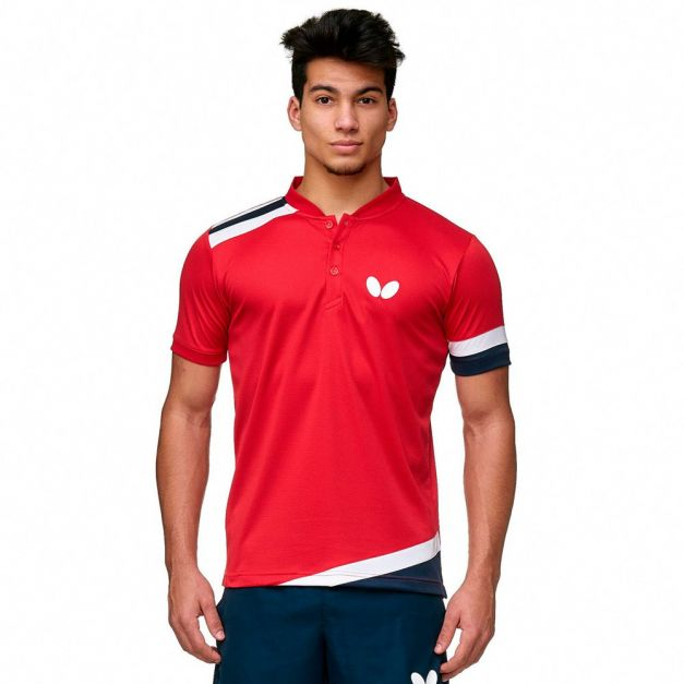 Polo BUTTERFLY SANTO RED
