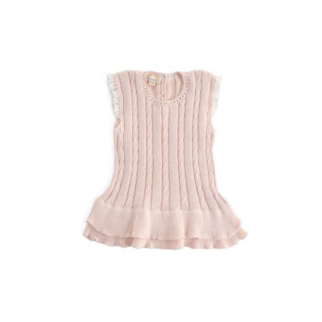 Vestido TUTU rosado - Disponible talla 6-9m y 9-12m