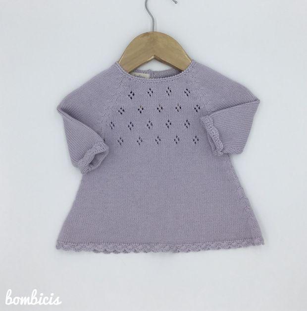 Vestido ZOE - Disponible talla:  3-6  meses