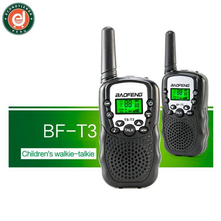 2 Radios Baofeng BF-T3