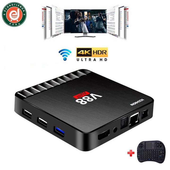 TV box V88 Piano 4GB/16GB Android 7.1