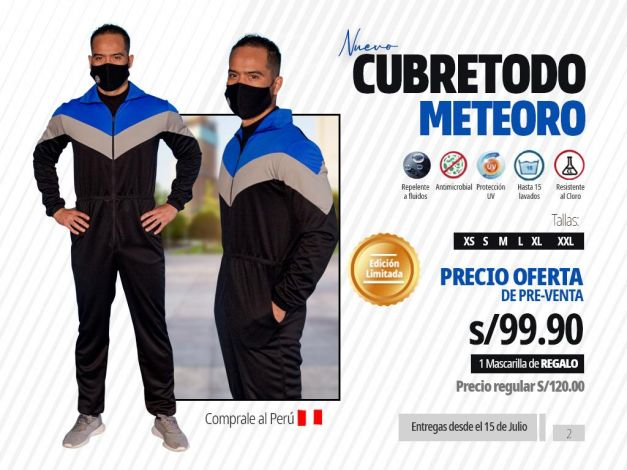 CUBRETODO METEORO