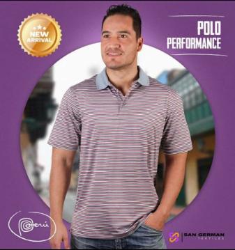 Polo Performance Listado Feed