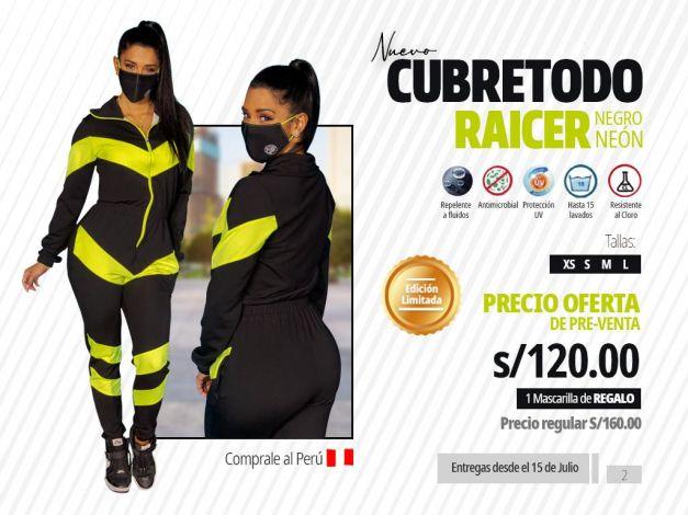 CUBRETODO RAICER NEGRO NEÓN