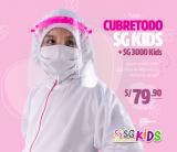 PACK TOTAL CUBRETODO SG KIDS + PROTECTOR KIDS 3000
