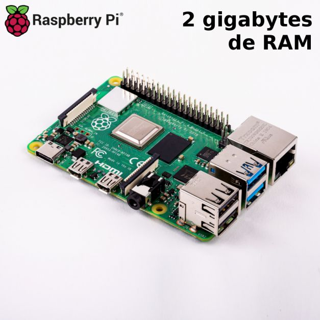 Raspberry Pi 4B de 2GB