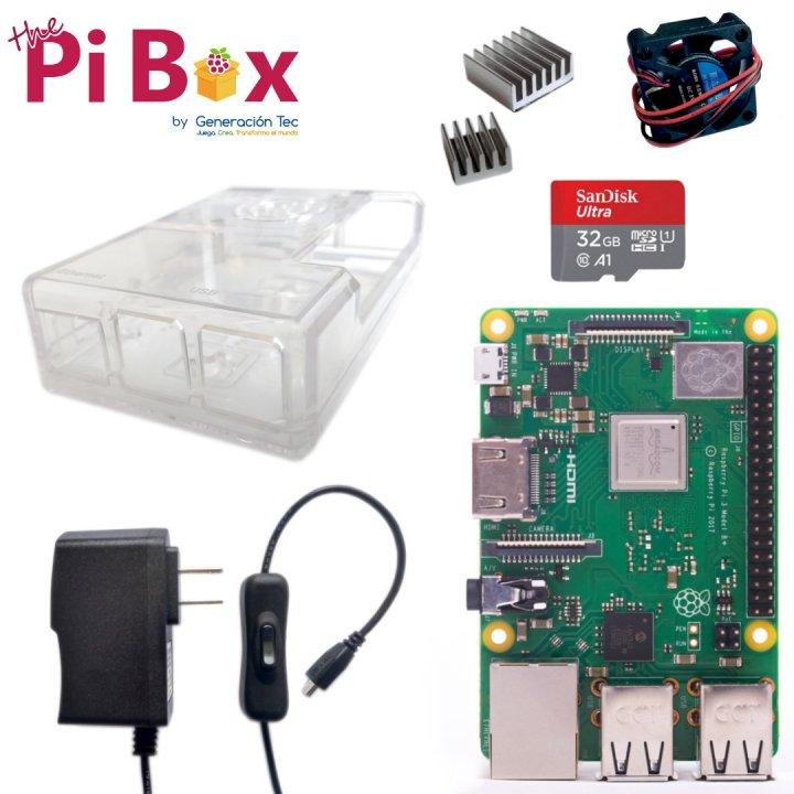 Kit Básico con Ventilador - Raspberry Pi 3B+
