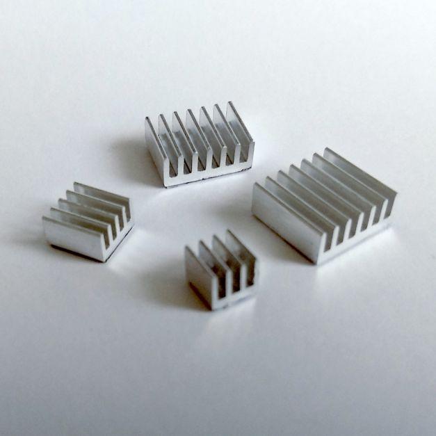 Disipadores de aluminio para Raspberry Pi 4B