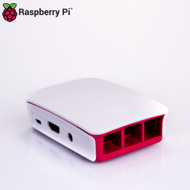 Case oficial Raspberry Pi para modelos 3B y 3B+