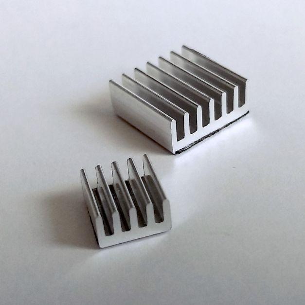 Disipadores de aluminio para Raspberry Pi 3B / 3B+