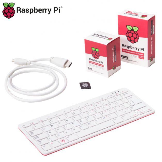 Combo Raspberry Pi 400 con accesorios oficiales