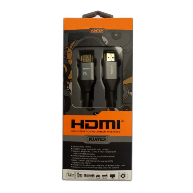 Cable HDMI 1.8m - KUMO