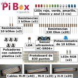 Kit Básico Plus - Componentes para Raspberry Pi Pico