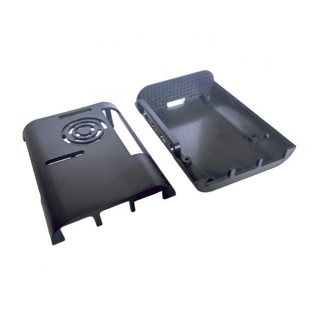 Case para Raspberry Pi 4B con soporte para ventilador