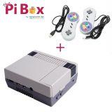 Combo Retrogamer: Case Nes4Pi + 2 mandos de juego