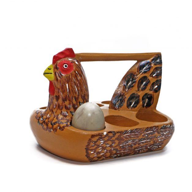 Gallina porta huevo