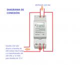 Interruptor / Reloj Horario Stronger New Era AHC15A