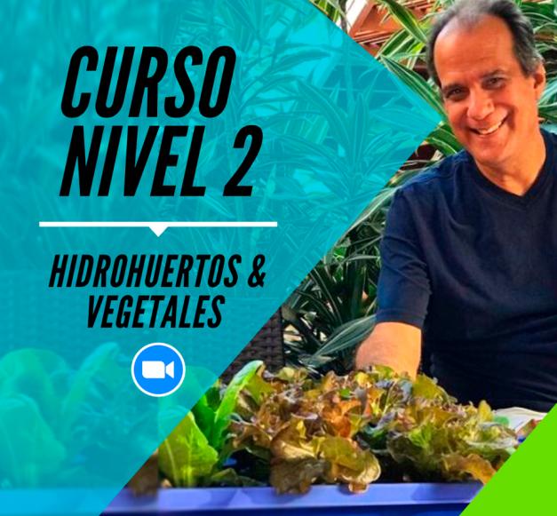 Nivel 2: Aprendiendo sobre Hidrohuertos & Vegetales - Próxima fecha Sab 07.08